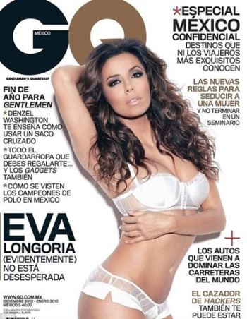Eva Longoria GQ Magazine Eva Longoria Sensual And Seductive For GQ Magazine