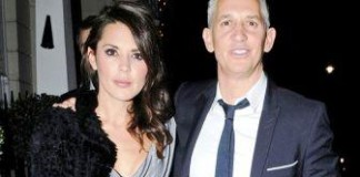 Lineker events with partner Danielle and son in strip pub