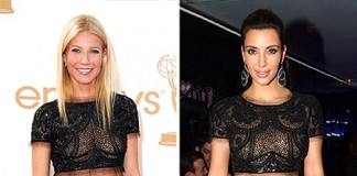 Gwyneth Paltrow And Kim Kardashian