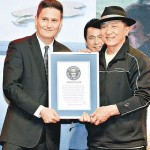 Jackie Chan Received Two Guinness Awards 150x150 Steve Jobs MacBook Pro Edition Auctioned USD 100 Million