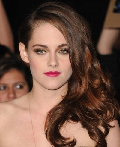 Kristen Stewart1 5 Eye Colors With the Most Amazing Pink Lips