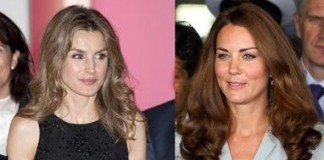 Letizia Ortiz And Kate Middleton Two Royal Princesses