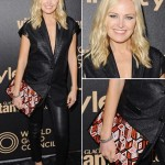 Malin Akerman Is Pregnant: Wearing Leather Pants