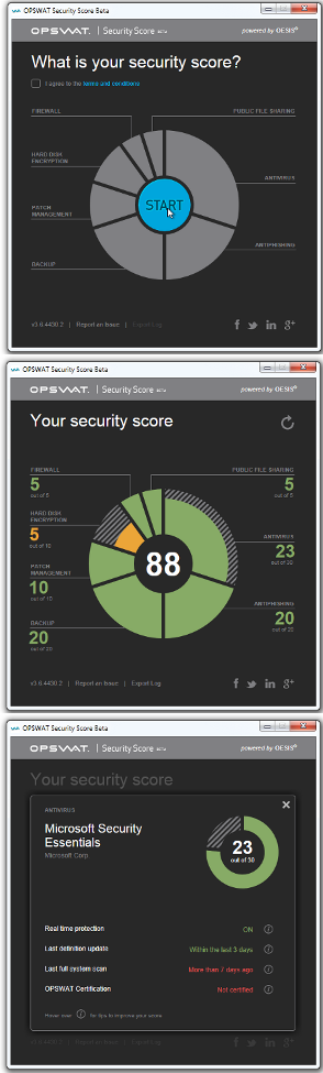 Security Score Analyzer