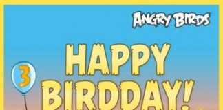 Third Anniversary of Angry Birds