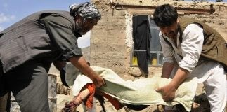 A mine explosion in Afghanistan killed 10 girls