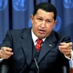 Venezuelan President Hugo Chavez, in the OR