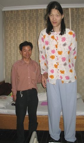 tallest woman Yao Defen dies