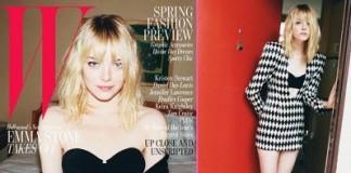 Emma Stone W Magazine Cover