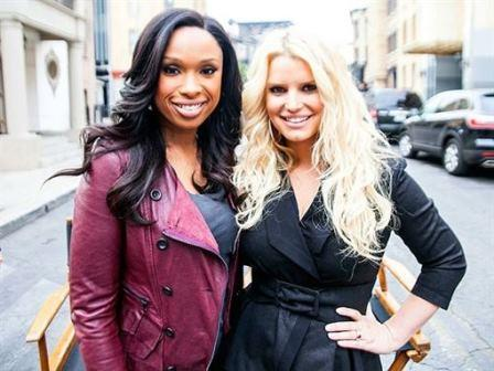 Jennifer Hudson and Jessica Simpson Weight Watchers Jessica Simpson And Jennifer Hudson Watchers Weigh Campaign