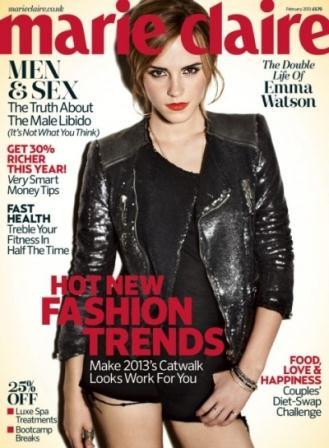 Marie Claire February 2013 Emma Watson