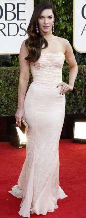 Megan Fox at Golden Globes Award 2013