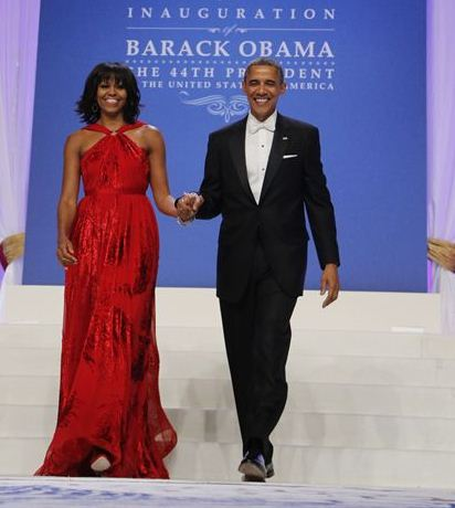 Michelle Obama Inauguration Dress 20131