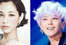 Model Kiko Mizuhara And Big Bang G-Dragon