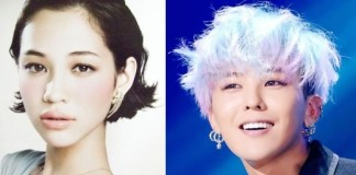 Model Kiko Mizuhara And Big Bang G-Dragon