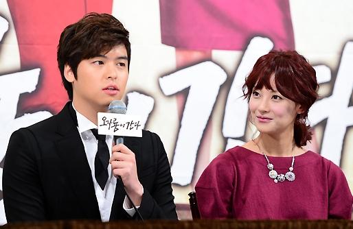 Oh Yeon Seo annd Lee Jang Woo
