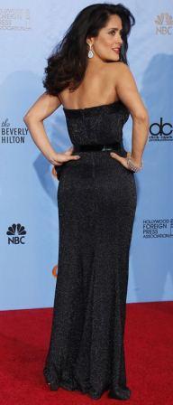 Salma at Golden Globes