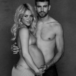 Shakira Shows Off Her Baby Bump In Bikini With Gerard Pique
