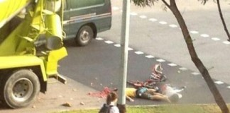 Tampines Accident Two Boys Killed Photo