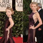 The Child Models Dressed As Hollywood Stars At Golden Globe