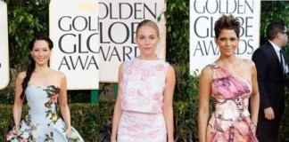 The Worst Dresses Golden Globes Sienna Miller Lucy Liu and Halle Berry