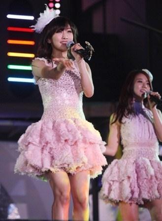 kara at Tokyo Dome concert