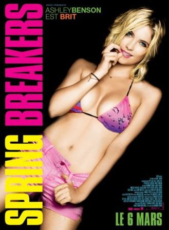 Spring Break Exposed Eclectic Posters Franco Bikini