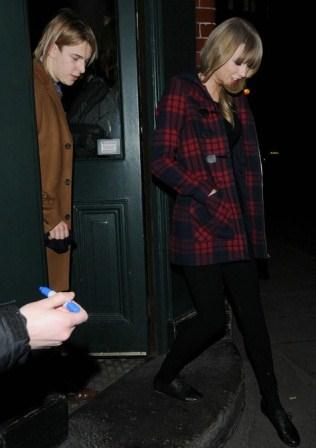 Taylor Swift with Tom Odell singer