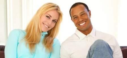 Lindsey Vonn And Tiger Woods