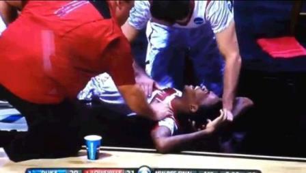 CBS Kevin Ware Broken Leg Replay