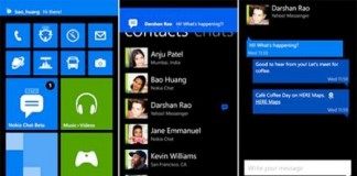 Nokia Lumia Chat Application Launched