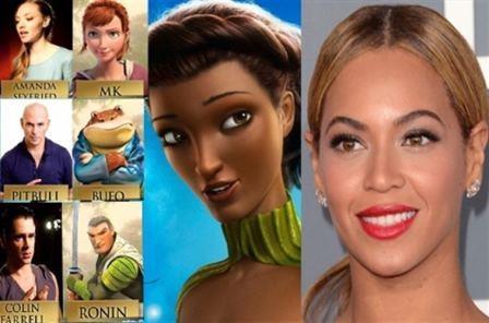 Beyonce Becomes Queen Tara