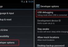 USBdebugSettting