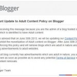 """The End of the """"Adult"""" Content in Blogger"""