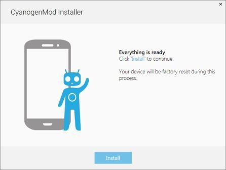 CyanogenMod installer 1