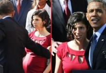 Obama Fainting Pregnant Woman