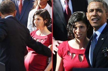 Obama Fainting Pregnant Woman