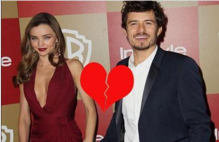 Orlando Bloom and Miranda Kerr Separated