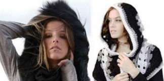 Hooded Scarf Fashion