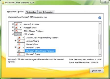 How to install microsoft office picture manager in office - You cannot install the 32 bit version of office 2010 ...
