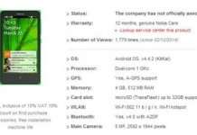 Nokia X A110 Android Smartphone