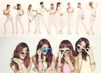Girls Generation and SISTAR