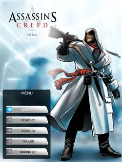 Assassin's Creed The Fall Comic for iPhone