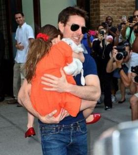 Tom Cruise Visiting Suri First Time After Divorce