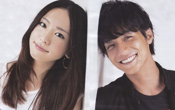 Aragaki Yui and Nishikido Ryo At Drama Full Throttle Girl