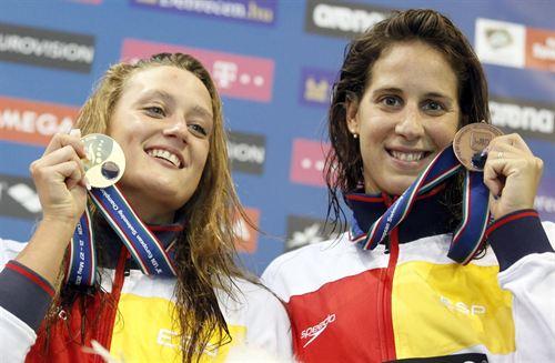 Mireia Belmonte Passes 800 Freestyle Final