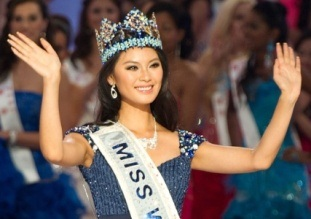 Miss World 2012 China Wen Xia Yu