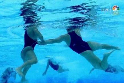 Olympic Water Polo Nipple Slip photo