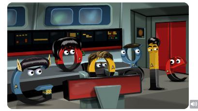 Star Trek The Original Series Google Doodle