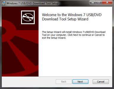 Windows 7 USB DVD Download Tool